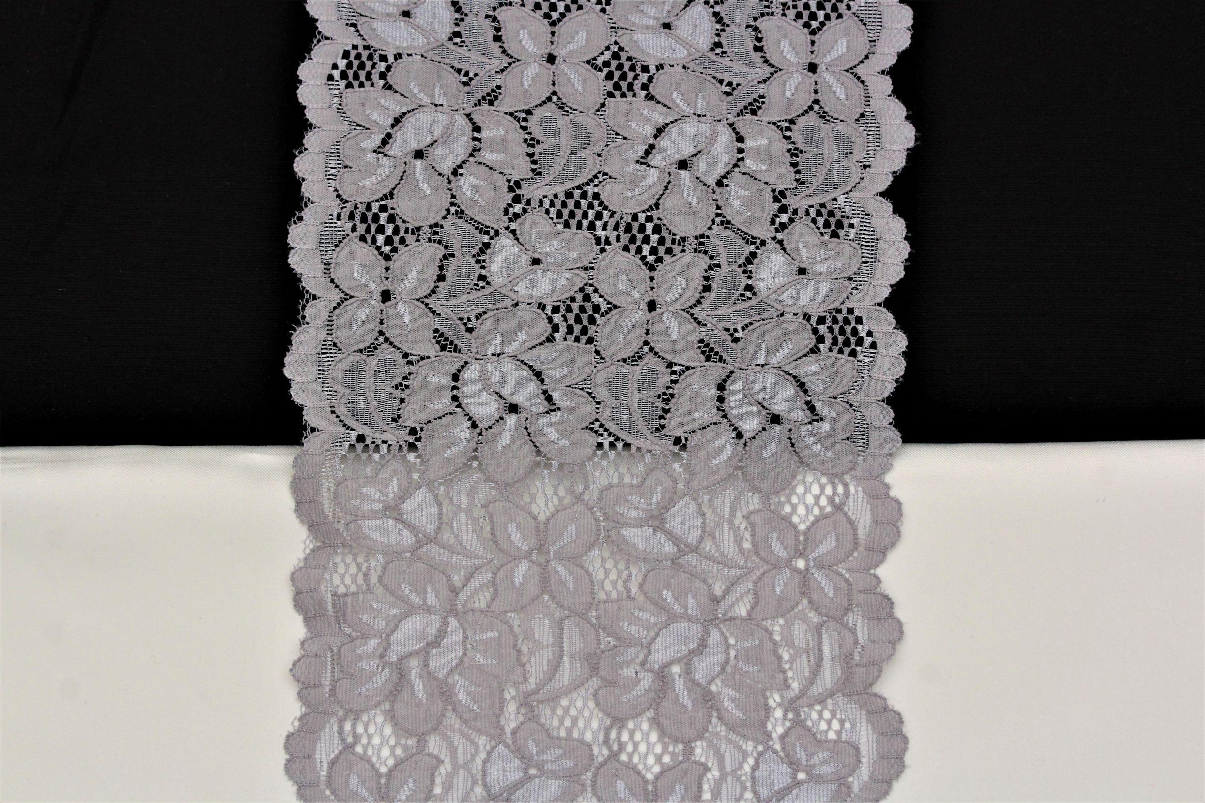 zilverktijze bloemenkant