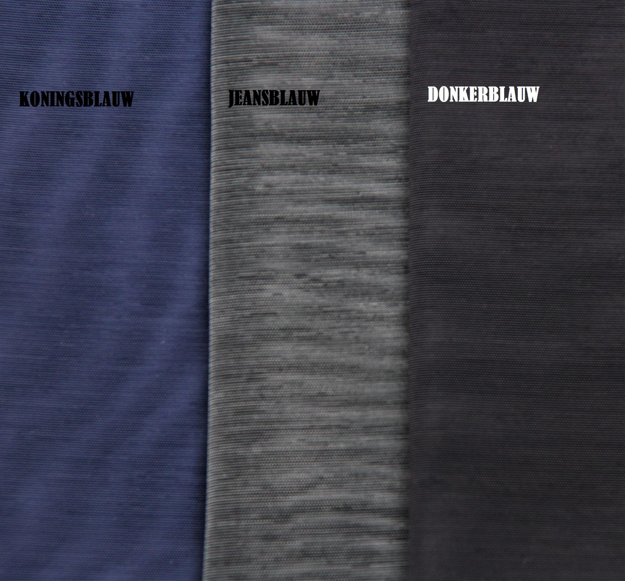 Powernet jeansblauw 50x90cm
