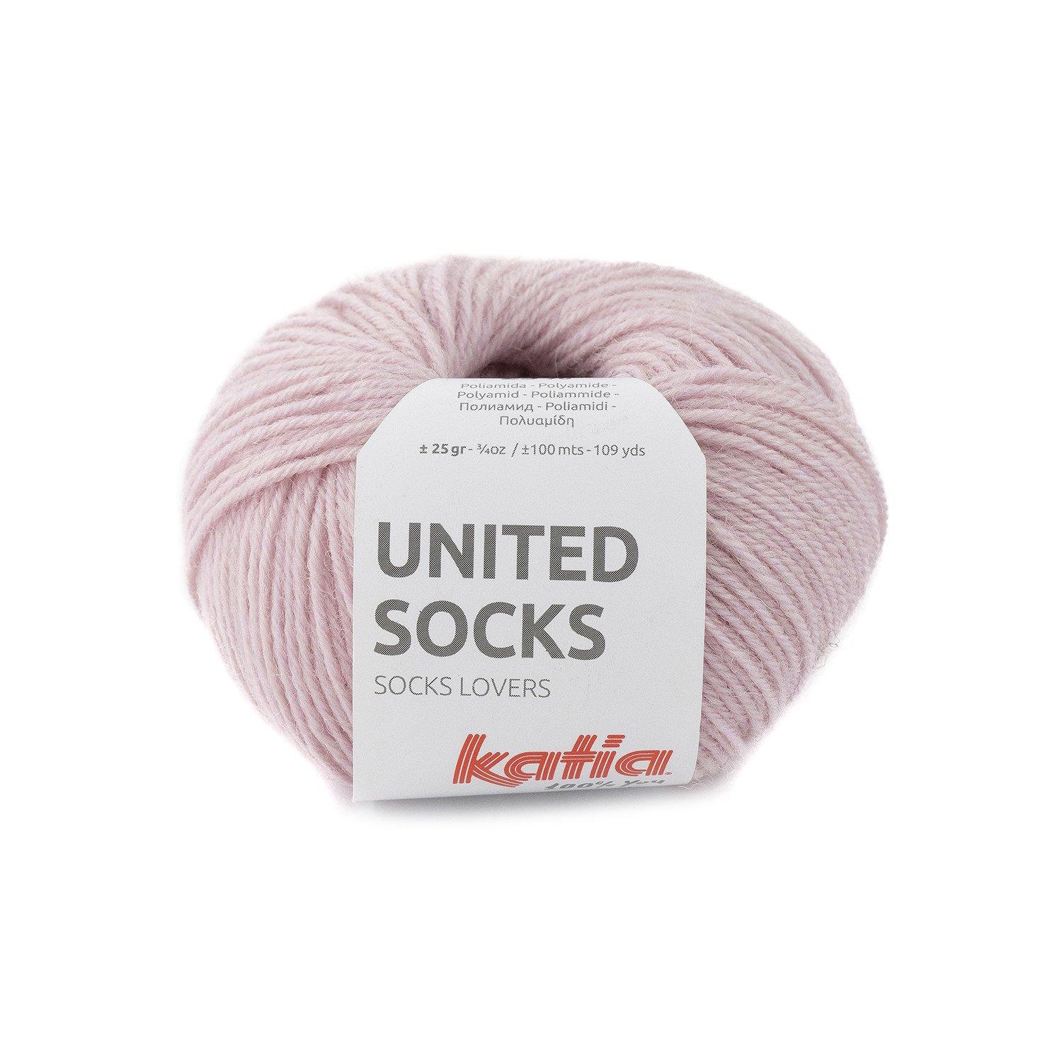 sokkenwol bleekrood