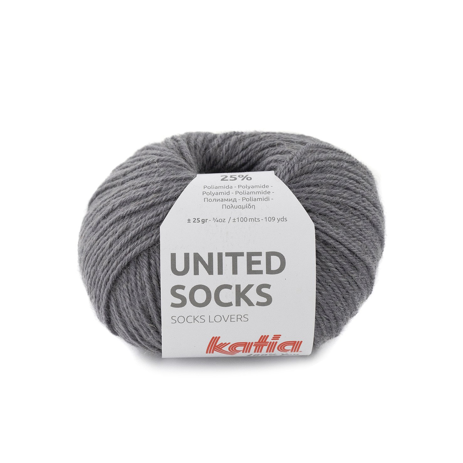 sokkenwol donkergrijs