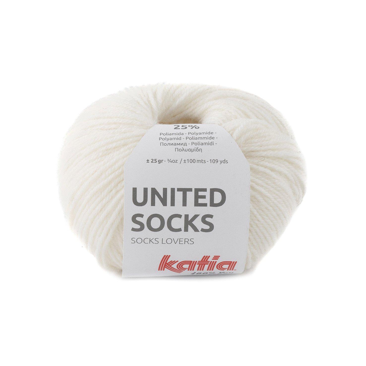 sokkenwol ecru