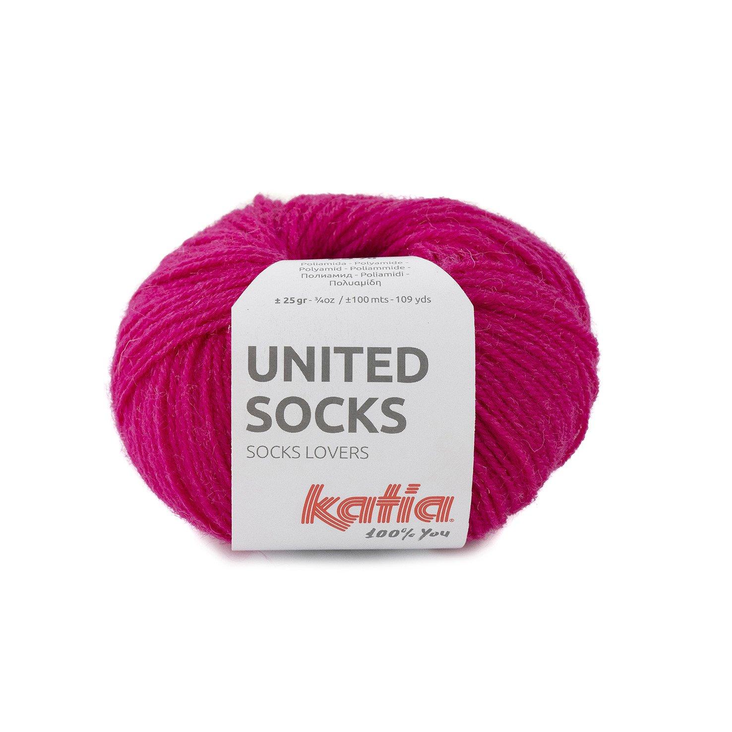 sokkenwol fuschia