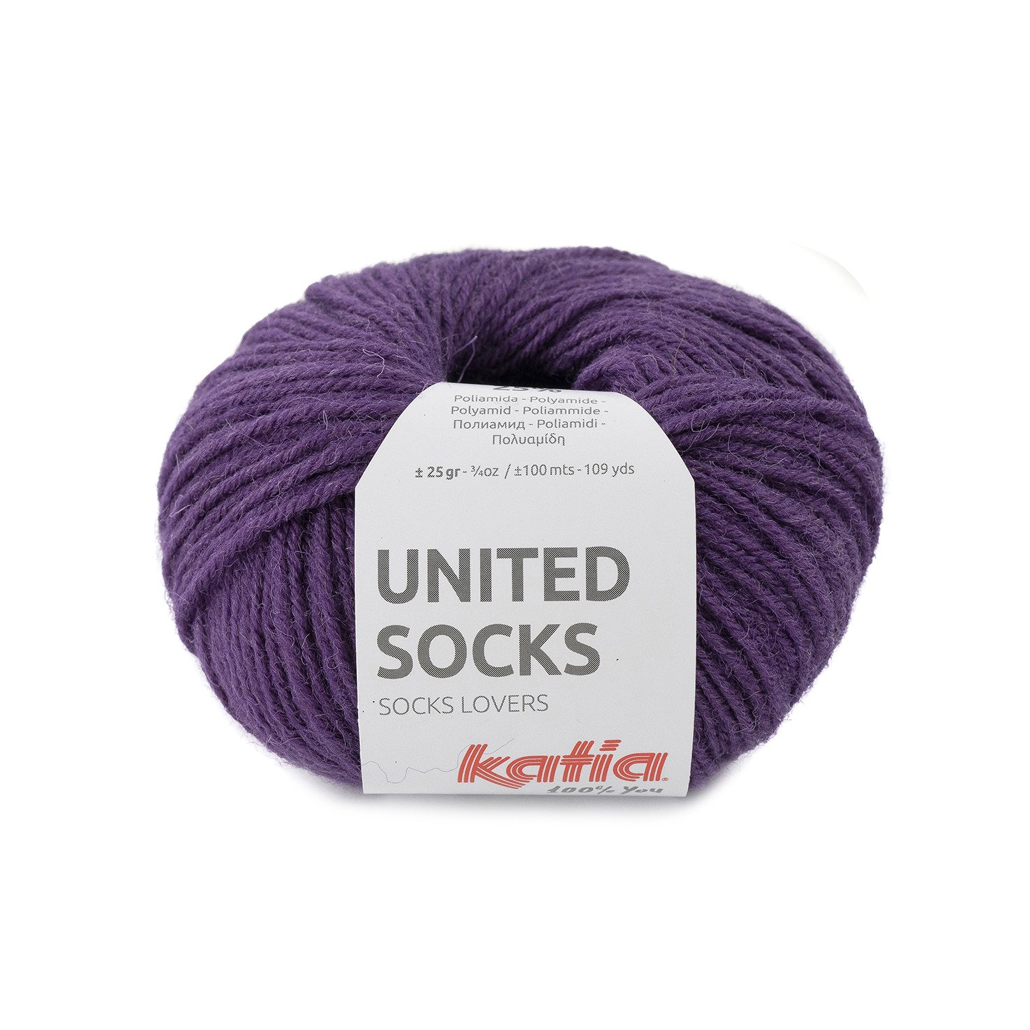 sokkenwol parelmoer licht violet