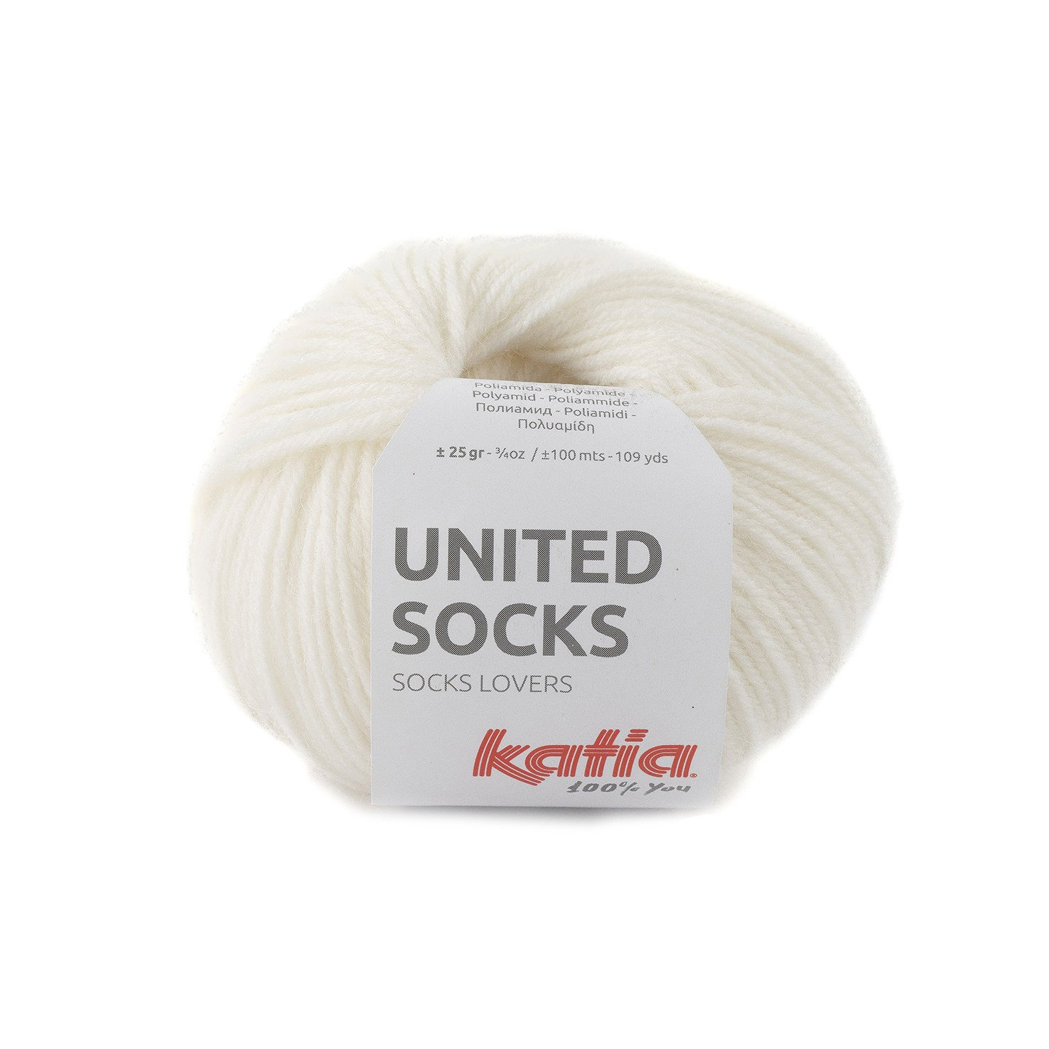 sokkenwol wit
